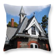 Victorian At The Old Soldiers Home Throw Pillow