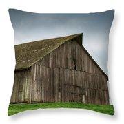 Victorian Barn  Throw Pillow