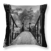 Victorian Bridge Throw Pillow