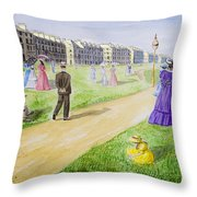 Victorian Filey Throw Pillow