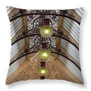 Victorian Lights Throw Pillow
