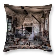 Victorian Locksmith Throw Pillow