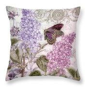 Victorian Romance II Throw Pillow