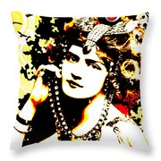 Victorian Temptation Throw Pillow