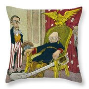 Victoriano Huerta Throw Pillow