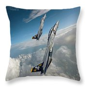 Victory Twoship Throw Pillow