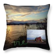 Vie Throw Pillow