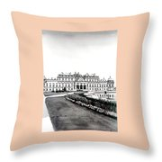 Vienna And The Belvedere Throw Pillow