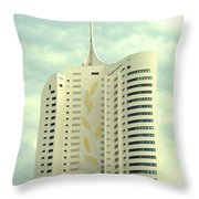 Vienna Architecture Throw Pillow