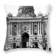 Vienna Austria - Imperial Palace - C 1902 Throw Pillow