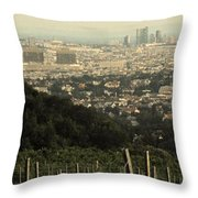 Vienna From The Vineyard Throw Pillow