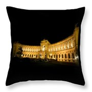 Vienna National Library Throw Pillow