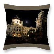 Vienna Natural History Museum Throw Pillow