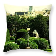 Vienna Park Throw Pillow