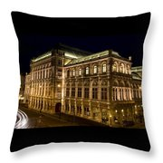Vienna State Opera Throw Pillow