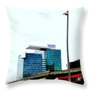 Vienna Volksbank Throw Pillow