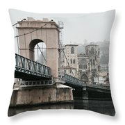Vienne, France Throw Pillow