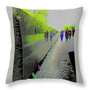 Viet Nam Memorial Throw Pillow