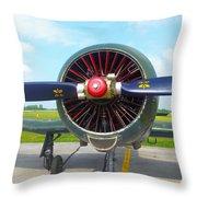 Vietnam Plane Throw Pillow