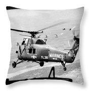 Vietnam War 1966 Throw Pillow