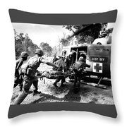 Vietnam War Throw Pillow