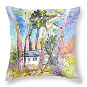 Vieux-boucau 01 Throw Pillow