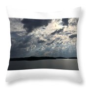 View Across Wappapello Lake II Throw Pillow