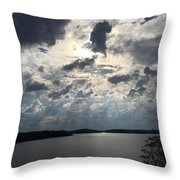 View Across Wappapello Lake IIi Throw Pillow