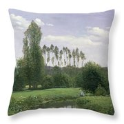 View At Rouelles Throw Pillow