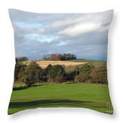 View At The Dalmahoy Throw Pillow
