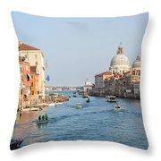 View From Accademia Bridge Throw Pillow