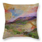 View From Angola Throw Pillow