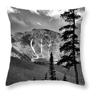 View From Atop Winter Park Mountain 2 Throw Pillow