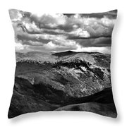 View From Atop Winter Park Mountain 3 Throw Pillow