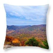 View From Bear Mountain Throw Pillow