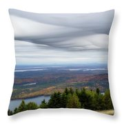 View From Cadillac Mountain Throw Pillow