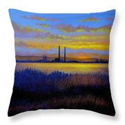 View From Clontarf - Dublin Throw Pillow