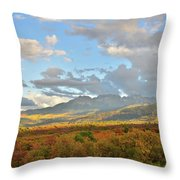 View From Dallas Divide Throw Pillow