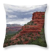 View From Doe Mountain Trail Throw Pillow