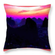 View From Elephant Trunk Hill Throw Pillow