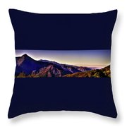 View From Eleven Ranges Overlook Throw Pillow