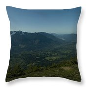 View From Elk Mountain Throw Pillow