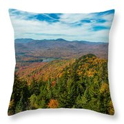 View From Goodnow Throw Pillow