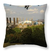 View From Greenwich Park Throw Pillow