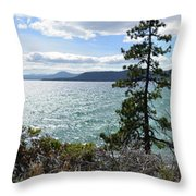 View From Incline Village Throw Pillow