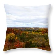 View From Kidder Road Throw Pillow