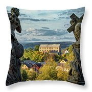 View From Kuks Hospital - Czechia Throw Pillow
