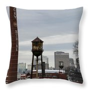 View From Libby Hill Throw Pillow