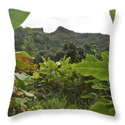 View From Likeke Throw Pillow