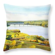 View From Lover's Leap Throw Pillow